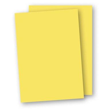 Papper A4 110g 10-pack gul