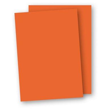 Papper A4 110g 10-pack orange