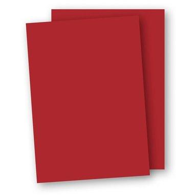 Papper A4 110g 10-pack röd