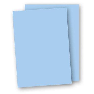 Papper A4 110g 10-pack ljusblå