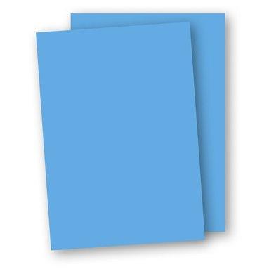 Papper A4 110g 10-pack azurblå