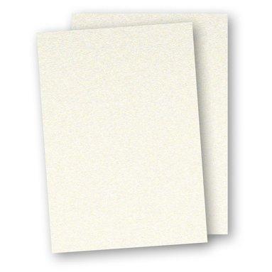 Papper A4 110g 10-pack pärlemor creme