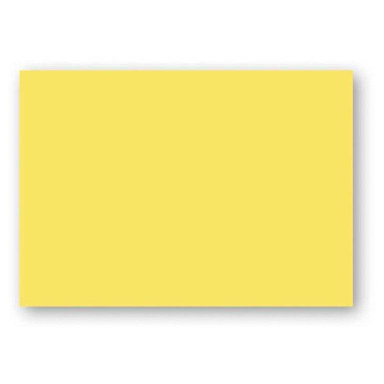 Kort A6 enkla 10-pack gul 1