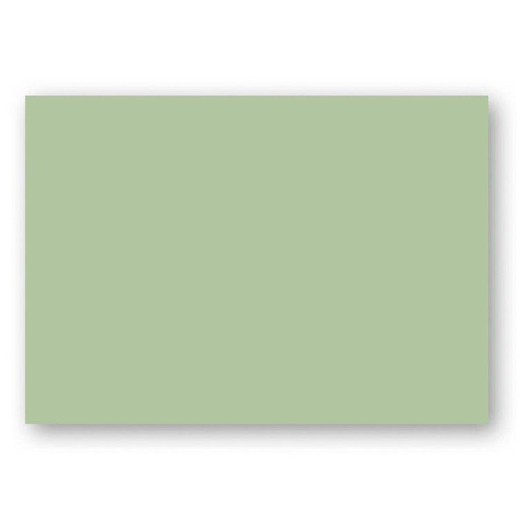 Kort A6 enkla 10-pack ljusgrön 1