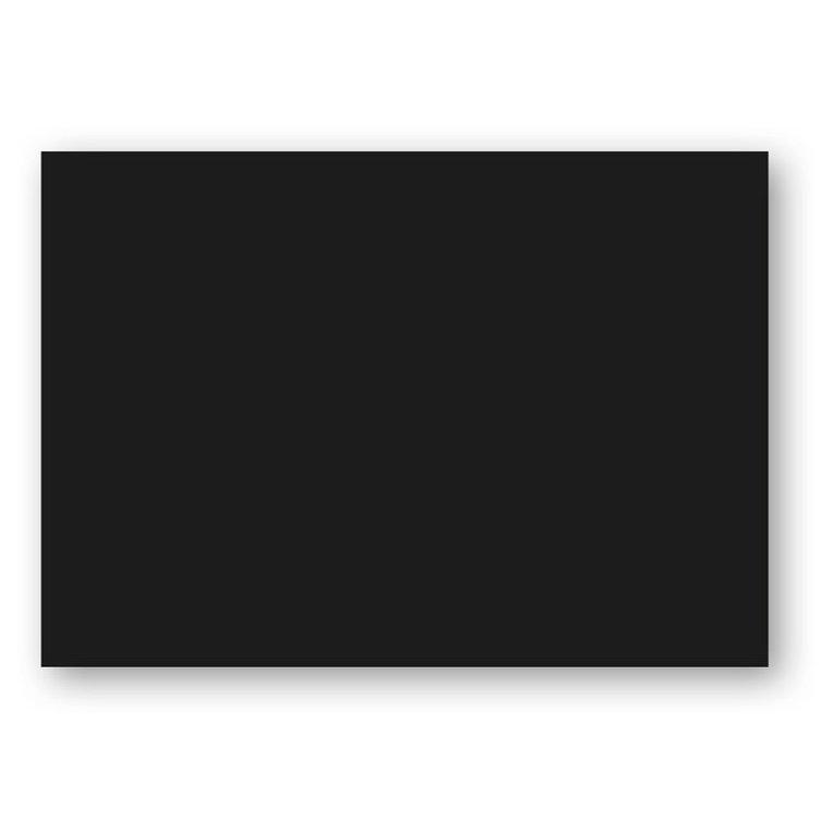 Kort A6 enkla 10-pack svart 1