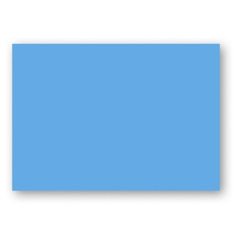 Kort A6 enkla 10-pack azurblå 1