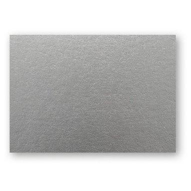 Kort A6 enkla 10-pack silver