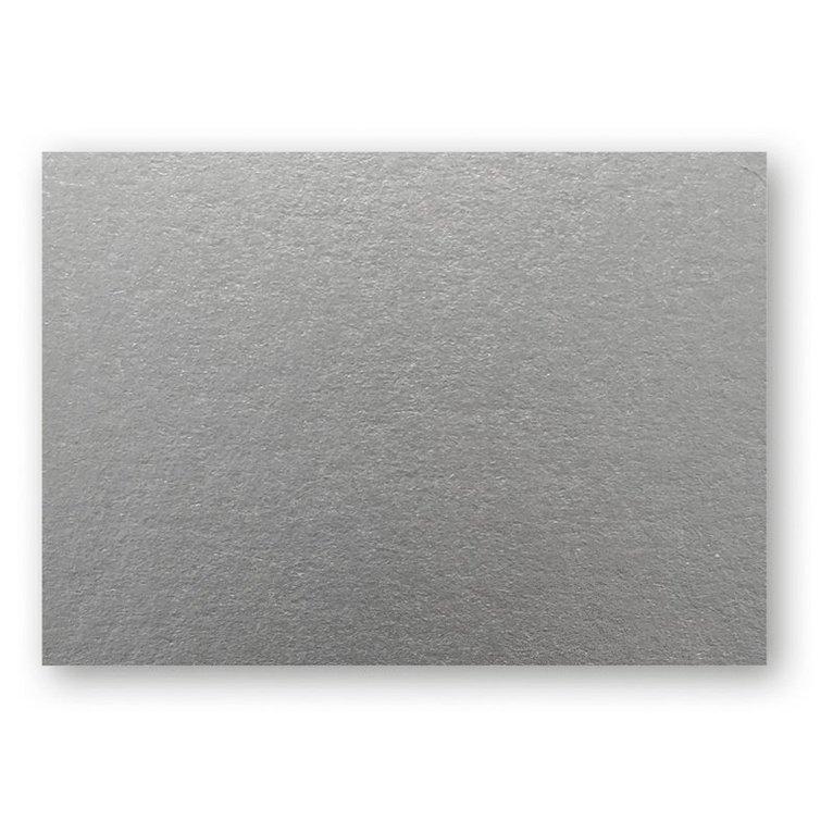 Kort A6 enkla 10-pack silver 1