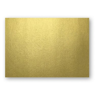 Kort A6 enkla 10-pack guld