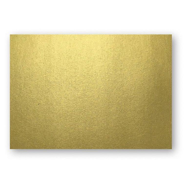 Kort A6 enkla 10-pack guld 1