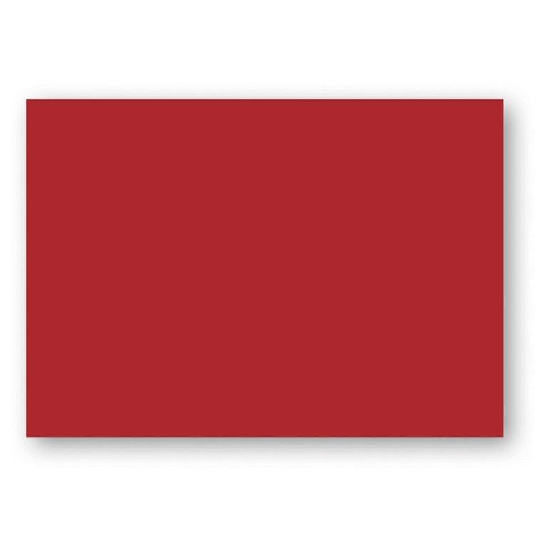 Kort A7 enkla 10-pack röd 1