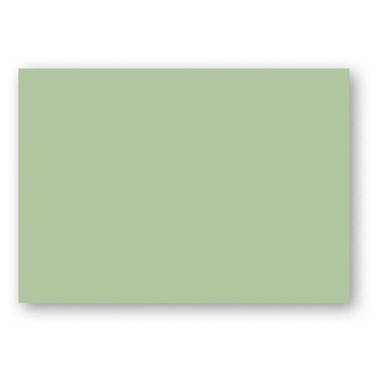 Kort A7 enkla 10-pack ljusgrön 1
