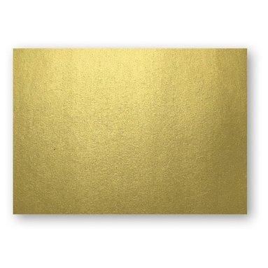 Kort A7 enkla 10-pack guld