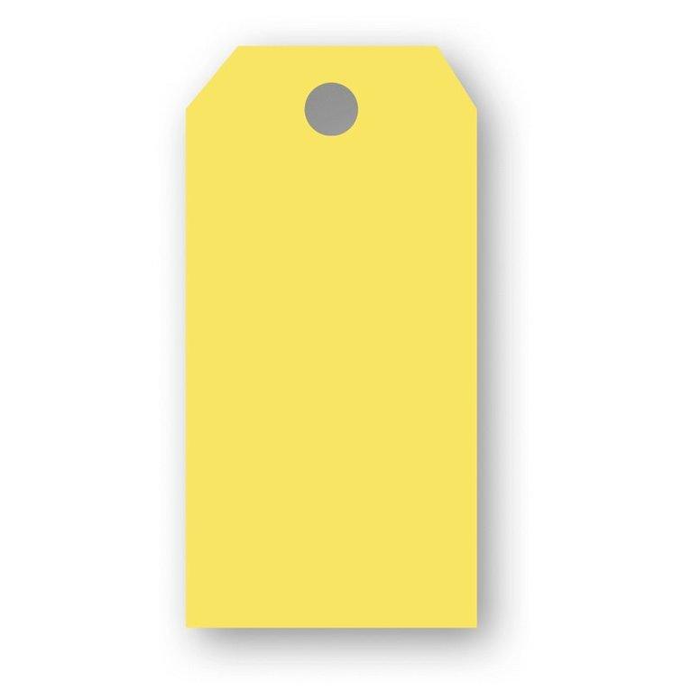 Adresskort 10-pack gul 1