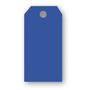 Adresskort 10-pack klarblå