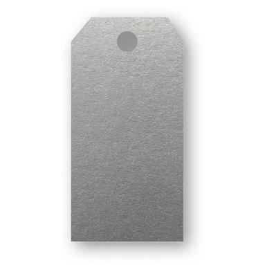 Adresskort 10-pack silver