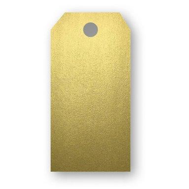 Adresskort 10-pack guld