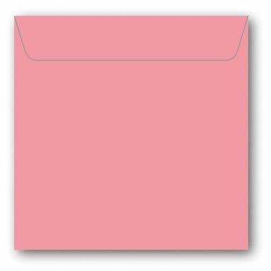 Kuvert kvadrat 5-pack rosa