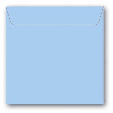 Kuvert kvadrat 5-pack ljusblå