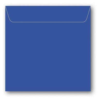 Kuvert kvadrat 5-pack klarblå