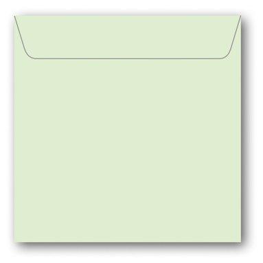 Kuvert kvadrat 5-pack lime