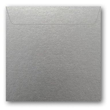 Kuvert kvadrat 5-pack silver