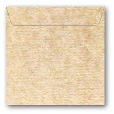 Kuvert kvadrat 5-pack marmor