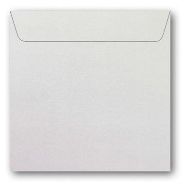 Kuvert kvadrat 5-pack pärlemor