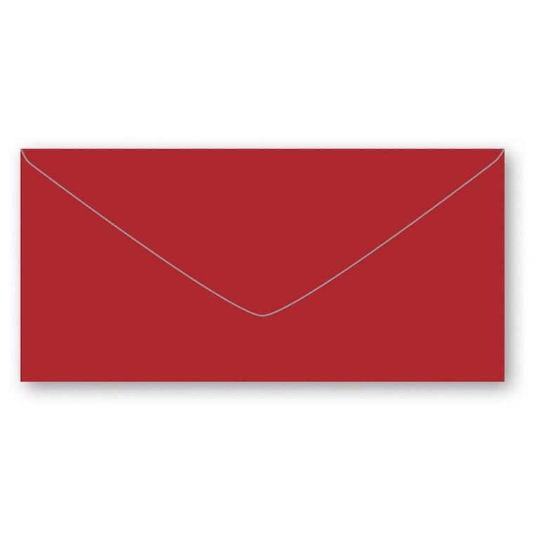 Kuvert E65 5-pack röd 1