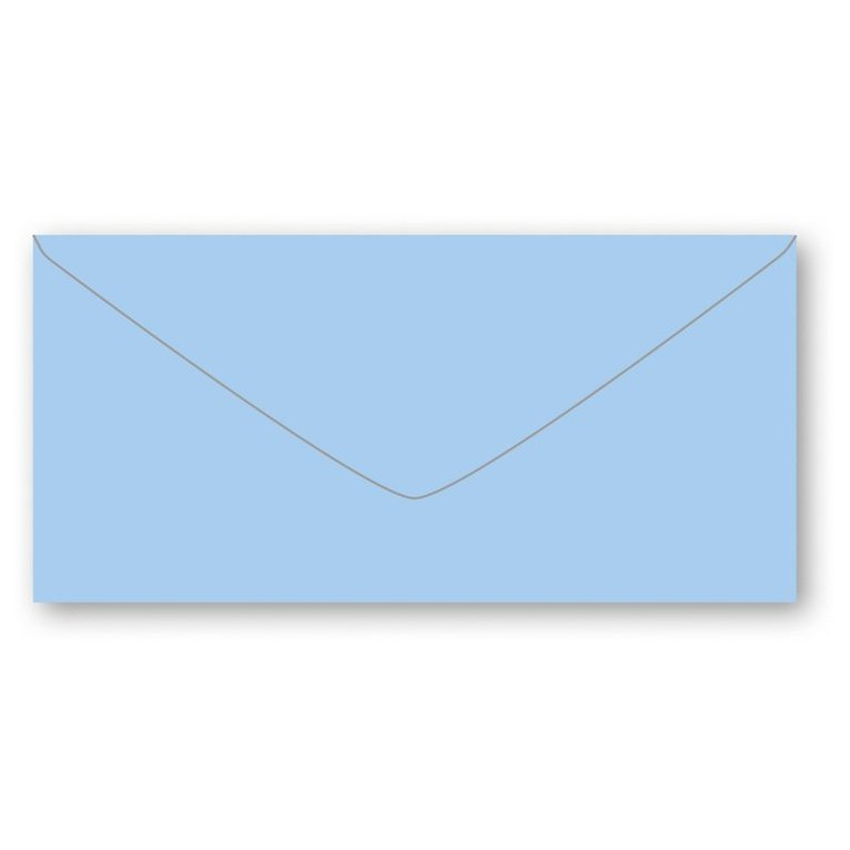 Kuvert E65 5-pack ljusblå 1
