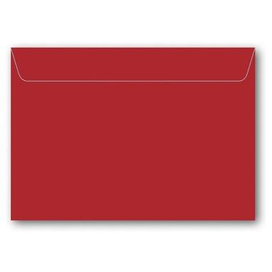 Kuvert C6 5-pack röd