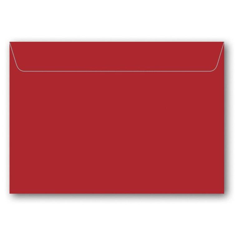 Kuvert C6 5-pack röd 1