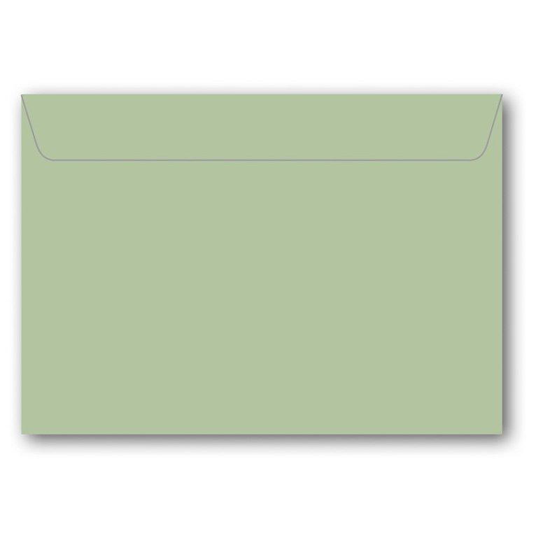 Kuvert C6 5-pack ljusgrön 1