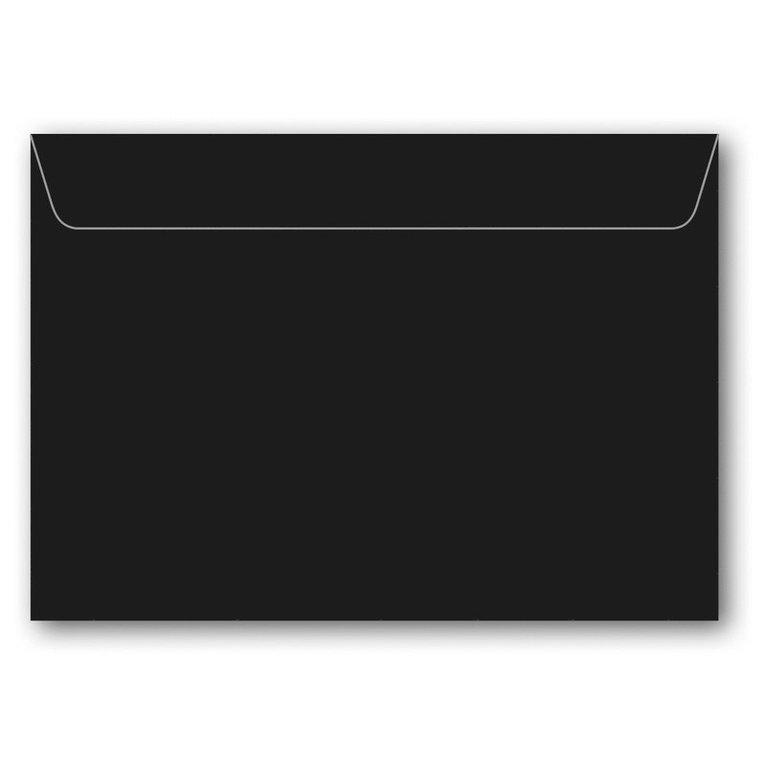 Kuvert C6 5-pack svart 1