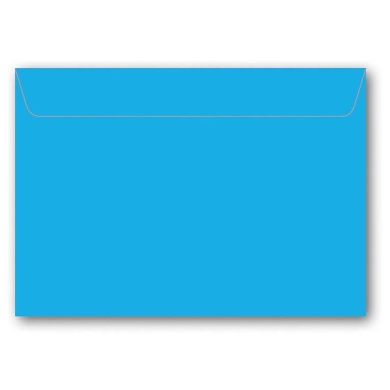 Kuvert C6 5-pack azurblå 1
