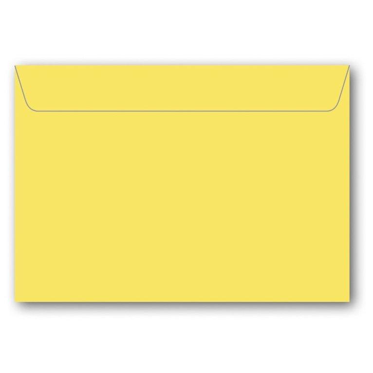 Kuvert C7 5-pack gul 1