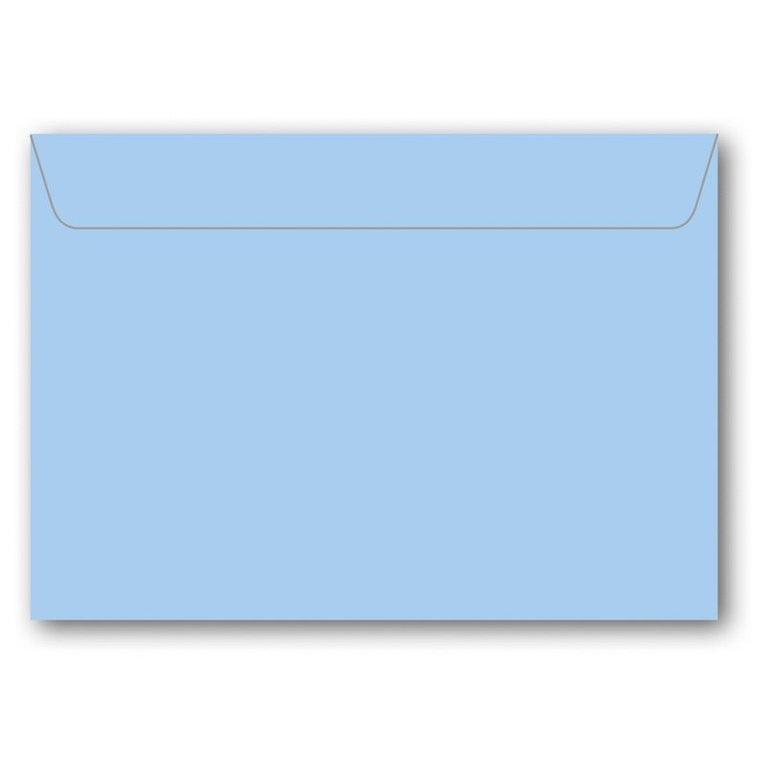 Kuvert C7 5-pack ljusblå 1
