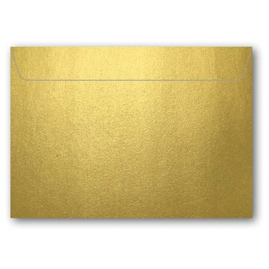 Kuvert C7 5-pack guld