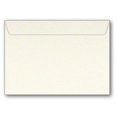 Kuvert C7 5-pack pärlemor creme
