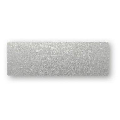 Placeringskort enkla 10-pack silver