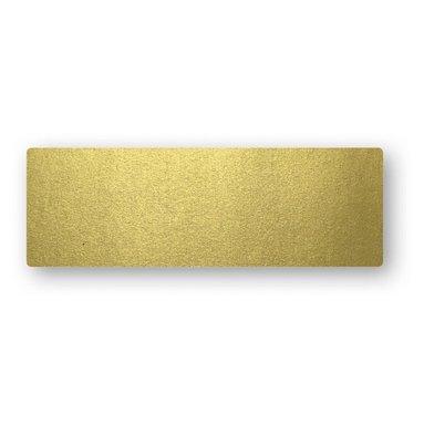 Placeringskort enkla 10-pack guld