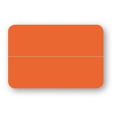 Placeringskort dubbla 10-pack orange