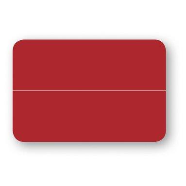 Placeringskort dubbla 10-pack röd