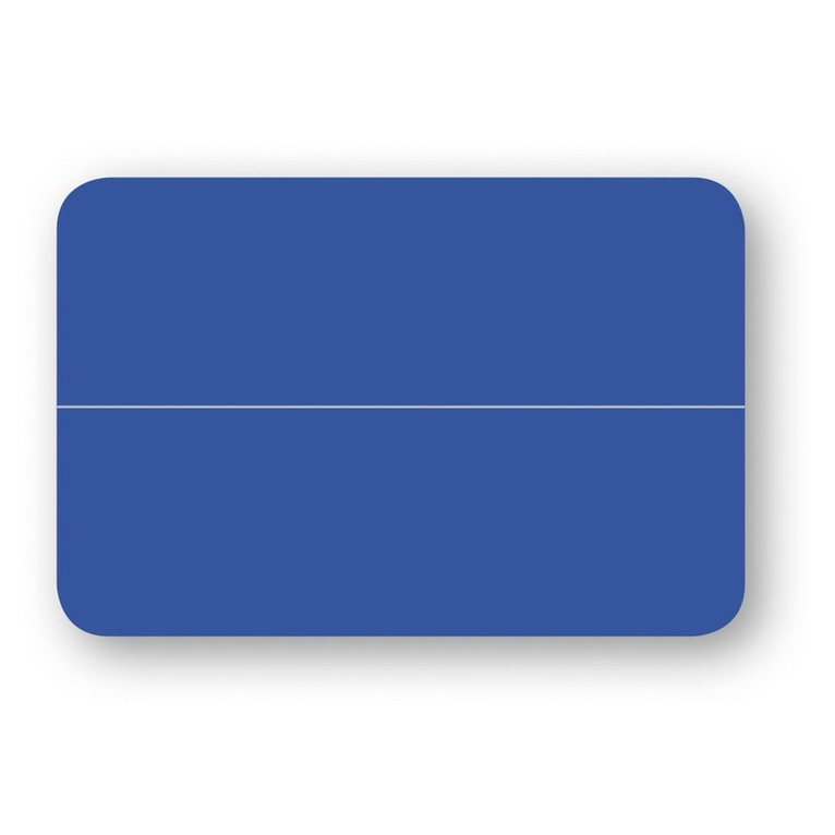 Placeringskort dubbla 10-pack klarblå 1