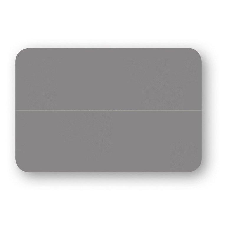 Placeringskort dubbla 10-pack grå 1