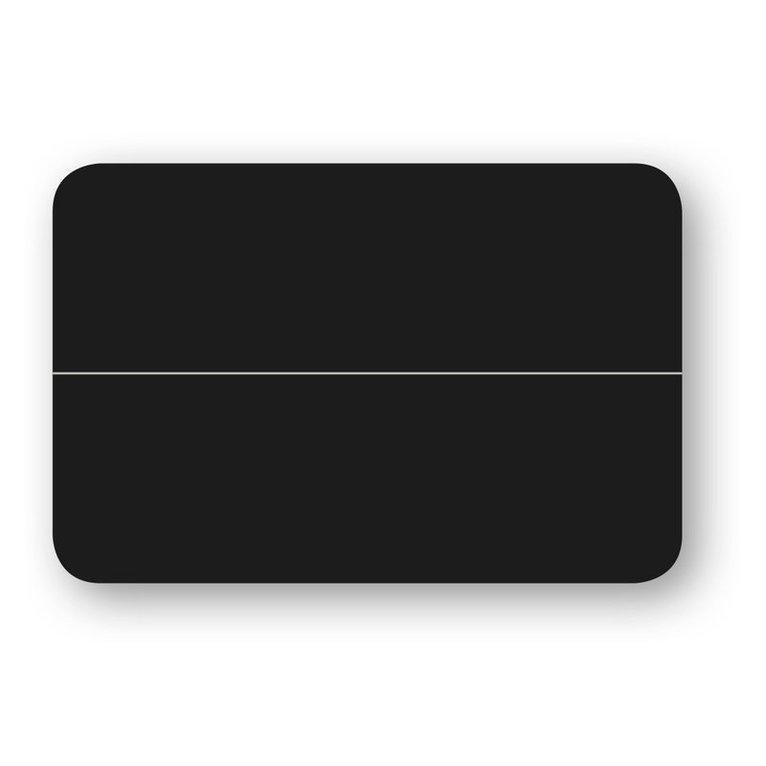 Placeringskort dubbla 10-pack svart 1