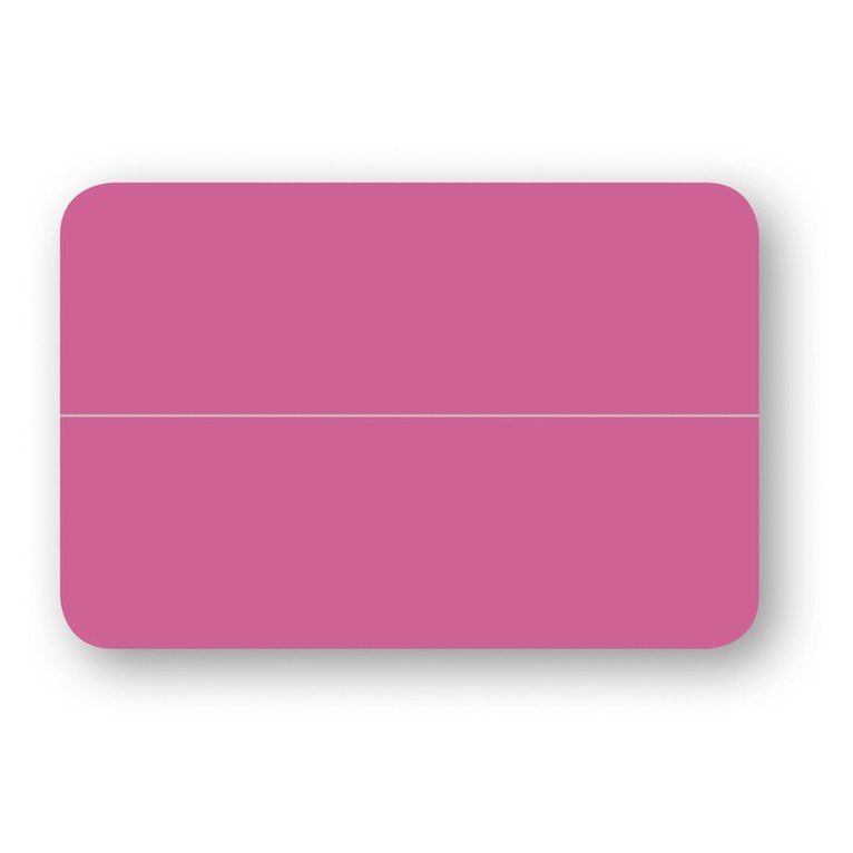 Placeringskort dubbla 10-pack cerise 1
