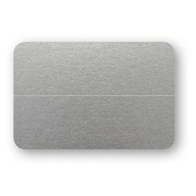 Placeringskort dubbla 10-pack silver