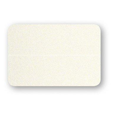 Placeringskort dnkla 10-pack pärlemor creme