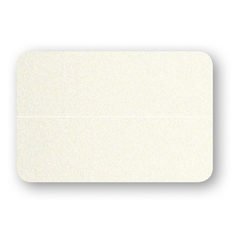 Placeringskort dubbla 10-pack pärlemor creme 1
